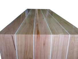 Blackbutt dinning room table and sikaflex joints