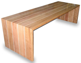 Blackbutt dinning room table
