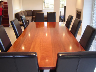 Blue Gum dinning room table