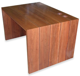 Spotted Gum study desk